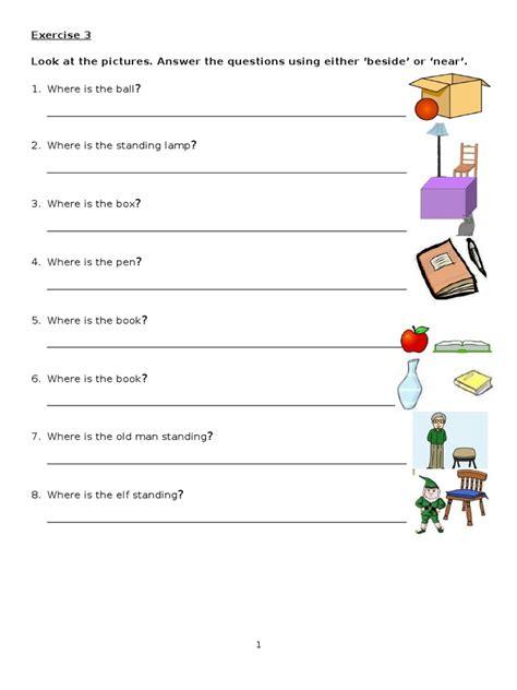 english year 4 kssr grammar prepositions worksheet