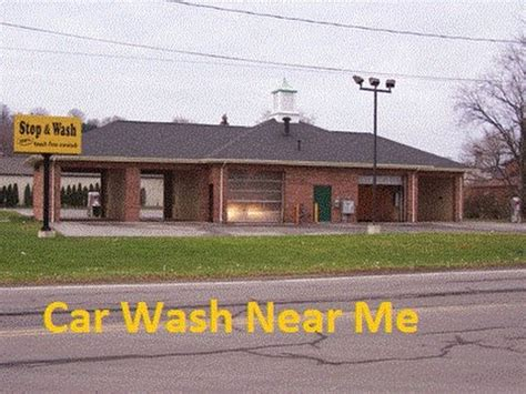 Car Wash Near Me Youtube
