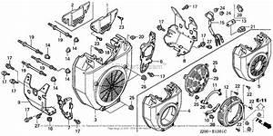 Honda Engines Gx610k1 Vdf2 Engine  Jpn  Vin  Gcac