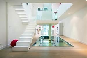 rampe escalier interieur moderne pour monter et descendre With rampe escalier interieur moderne