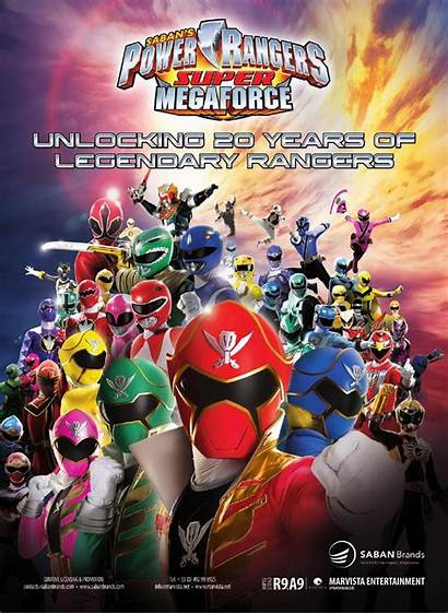 Power Rangers Megaforce Dino Ranger Charge Poster