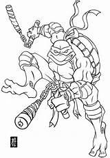 Ninja Turtles Coloring Mutant Teenage Pages sketch template