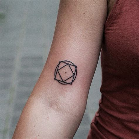small geometry tattoo  arm  tattoo ideas gallery