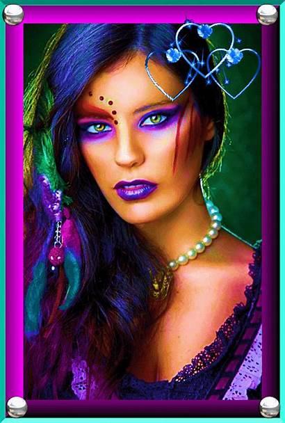 Femme Fantasy Femmes Fantaisie Scintillante Gifs Dreamies