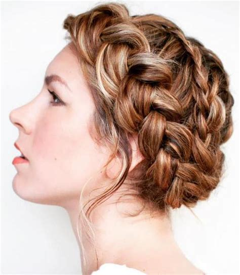 crown braid hairstyles  summer tutorials  ideas