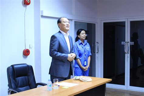 Welcome Lee Jean Su President
