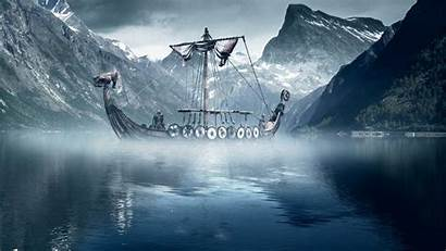 Viking Wallpapers Ship Desktop Ships 3d Vikings