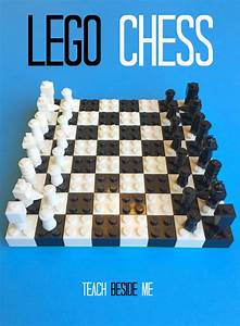 How To Make a Lego Chess Set   Lego, The o'jays and Lego chess