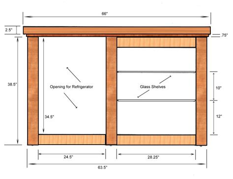 Home Bar Measurements by Home Bar Plans Build Your Own Home Bar Furniture