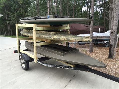 Four Rivers Layout Boat For Sale by Building A Layout Duck Boat