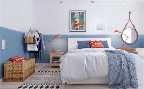 deco chambre nordique chambre cocooning pour une ambiance cosy et confortable