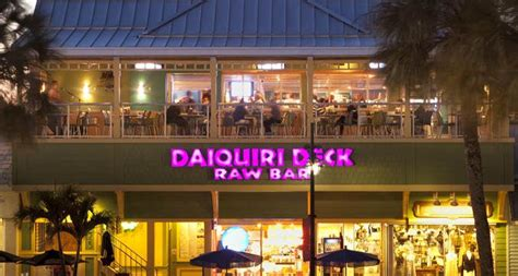Daiquiri Deck Venice Entertainment by St Armands Bar Frozen Daiquiris Live Food