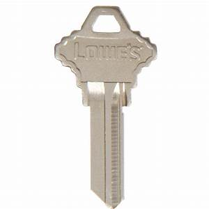 Shop Hillman Axxess Schlage House Key Blank at Lowes com