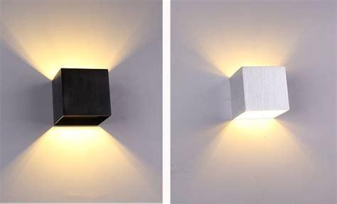 1pcs led wall l sconce light modern loft stairs bedroom