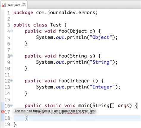 method   ambiguous   type  java ambiguous