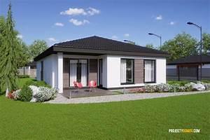 Projekty domů bungalov