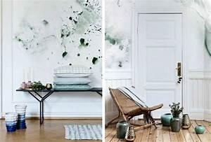 Wandgestaltung Büro Ideen : 32 wandfarben ideen mit aquarell die sie begeistern werden ~ Lizthompson.info Haus und Dekorationen