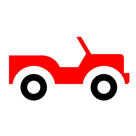 red jeep clipart red jeep clip art at clker com vector clip art online