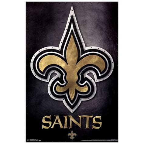 New Orleans Saints  Logo 13 Poster Print  Pricefallscom