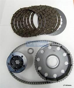 T120 Unit Twin Belt Drive Kit C  W 7 Plate Clutch Incl Instr