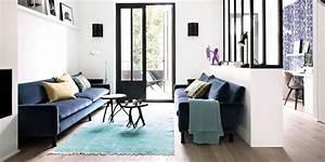 Tapis Salon Blanc : tapis de salon l 39 indispensable du salon marie claire ~ Teatrodelosmanantiales.com Idées de Décoration