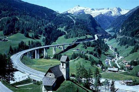 Brennerautobahn In Richtung Süden