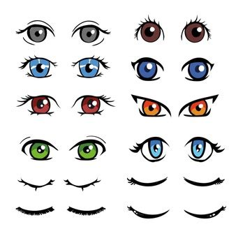 ojos clipart  photoshop   cliparts