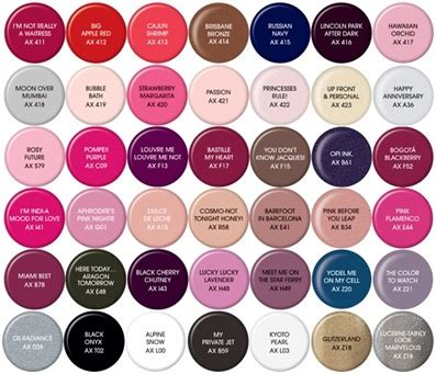 opi color chart opi gel color chart my style in 2019 opi gel nail