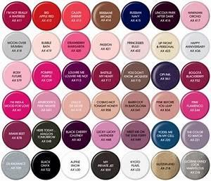 opi-gel-nail-polish-color-chart.jpg (397×341) | My colors ...