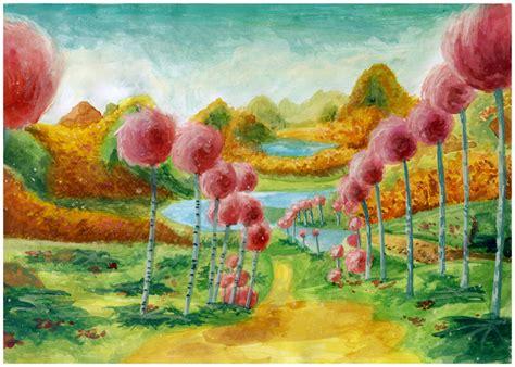 Truffula Trees Painting By Mimint On Deviantart