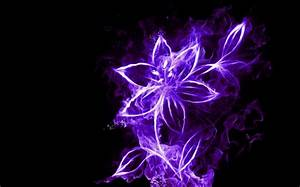 Neon Flower Flowers & Nature Background Wallpapers on