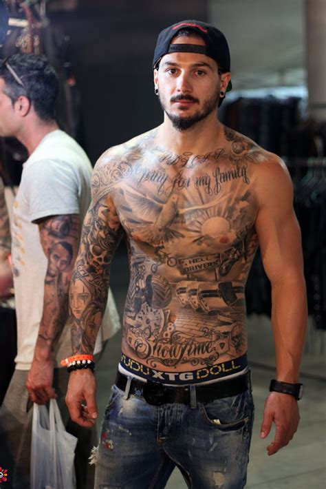chest tattoos  men