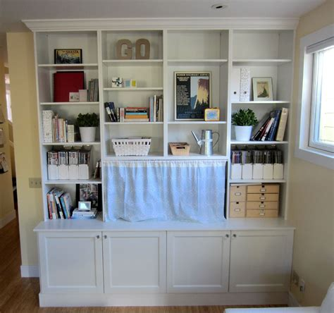 ikea built in cabinets ikea hack bookshelves ikea hack 2 besta built in family