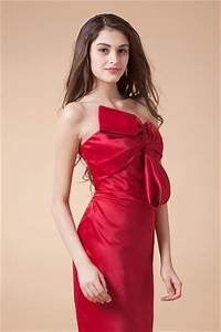 robe rouge de cocktail avec noeud papillon en satin persunfr With robe de cocktail combiné avec bracelet papillon
