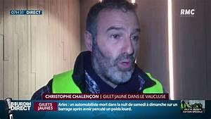 Blocage Gilet Jaune Vaucluse : christophe chalen on gilet jaune dans le vaucluse compte bien rencontrer le premier ministre ~ Maxctalentgroup.com Avis de Voitures