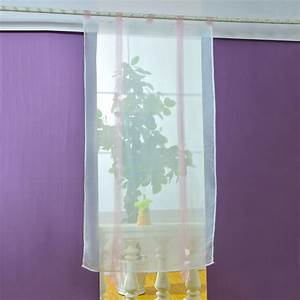 New sheer kitchen bathroom balcony window curtain voile for Sheer bathroom window curtains