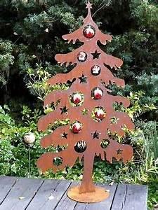 Weihnachtsbaum Metall Dekorieren : weihnachtsbaum metall edelrost rost 120cm deko tanne tannenbaum metallobjekte pinterest ~ Sanjose-hotels-ca.com Haus und Dekorationen