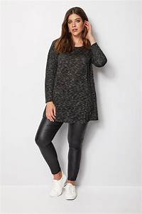 Bon Price Mode : top long noir blanc grande taille 44 64 ~ Eleganceandgraceweddings.com Haus und Dekorationen