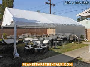 How Many Tables Fit Under a 10X30 Tent