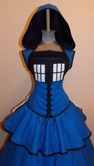 doctor who wedding dress who customizable style tardis dress