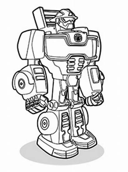 Wave Heat Rescue Bots Coloring Transformers Fun