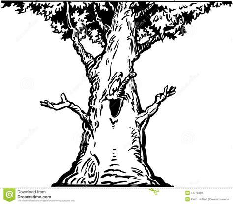 clipart alberi clipart felice di vettore fumetto dell albero