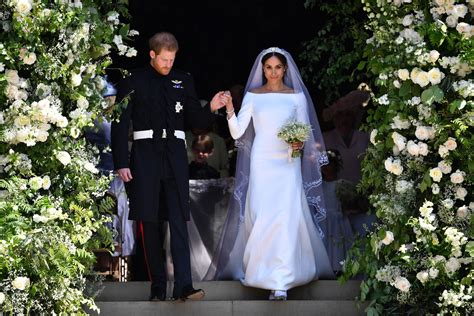 heres  meghan markle prince harrys wedding