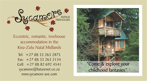 business card sycamore tree house  images business