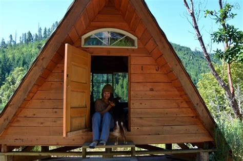 a frame cabin plans free grid micro a frame cabin