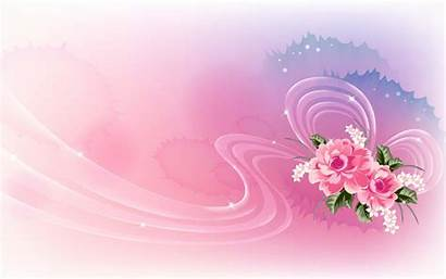 Pink Roses Ribbon 3d Translucent Abstract Wallpapers