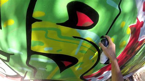 Graffiti Green Force : Green & Red