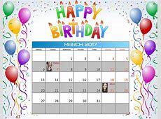 How to Create a Birthday Reminder Calendar Creative Photo