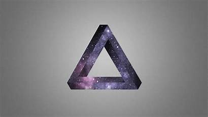 Triangle Impossible Space Hipster Wallpapers Wallpaperaccess Backgrounds