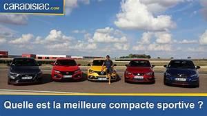 Meilleure Voiture Compacte : comparatif quelle est la meilleure compacte sportive du march youtube ~ Maxctalentgroup.com Avis de Voitures